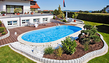 Pool poolset stahlwandbecken 8 x 4 x 1 5 m oval set neu ebay for Stahlwandpool angebot
