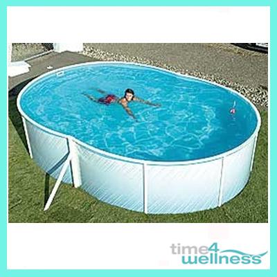 Schwimmpool pool stahlwandbecken becken 7 3x3 7x1 2 ebay for Stahlwandbecken oval